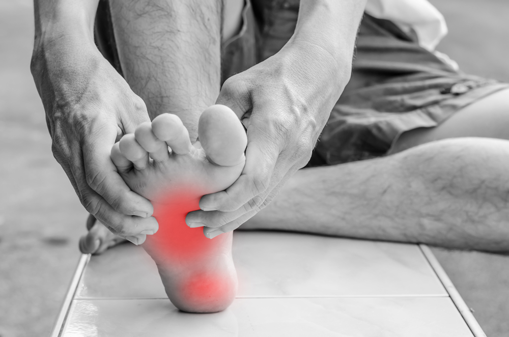 numbness and pain in feet